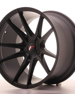 JR Wheels JR21 19×11 ET15-30 5H BLANK Matt Black