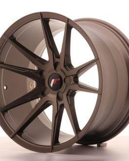 JR Wheels JR21 19×11 ET15-30 5H BLANK Matt Bronze
