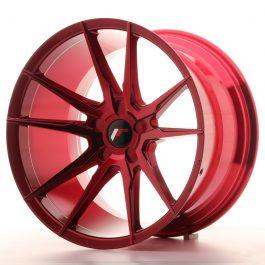 JR Wheels JR21 19×11 ET15-30 5H BLANK Platinum Red