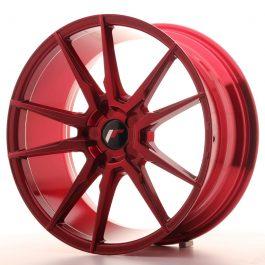 JR Wheels JR21 19×8,5 ET35-43 5H BLANK Platinum Red