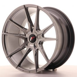 JR Wheels JR21 19×9,5 ET20-40 5H BLANK Hyper Black