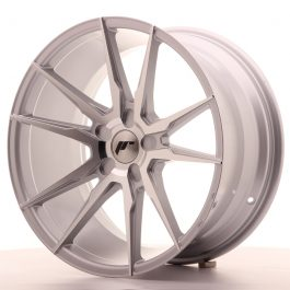 JR Wheels JR21 19×9,5 ET20-40 5H BLANK Silver Machined Face