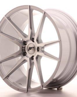 JR Wheels JR21 20×10 ET40 5×120 Silver Machined Face