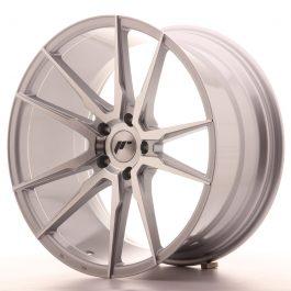 JR Wheels JR21 20×10 ET30 5×112 Silver Machined Face