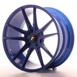 JR Wheels JR21 20×10 ET20-40 5H BLANK Platinum Blue