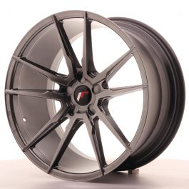 JR Wheels JR21 20×10 ET20-40 5H BLANK Hyper Black