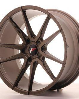JR Wheels JR21 20×10 ET40 5H BLANK Matt Bronze