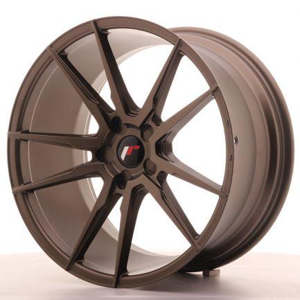 JAPAN RACING JR Wheels JR21 20x10 ET40 5H BLANK Matt Bronze 10.00x20