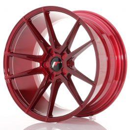 JR Wheels JR21 20×10 ET40 5H BLANK Platinum Red