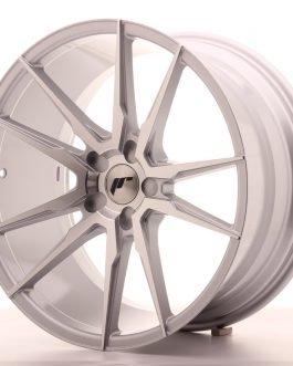 JR Wheels JR21 20×10 ET40 5H BLANK Silver Machined Face