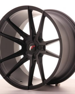 JR Wheels JR21 20×11 ET20-30 5H BLANK Matt Black