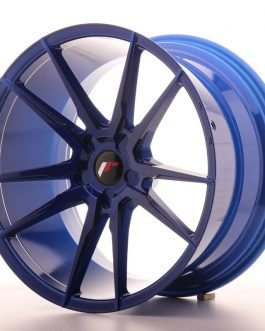 JR Wheels JR21 20×11 ET20-30 5H BLANK Platinum Blue