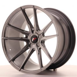 JR Wheels JR21 20×11 ET20-30 5H BLANK Hyper Black