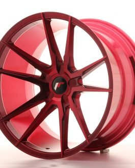 JR Wheels JR21 20×11 ET20-30 5H BLANK Platinum Red