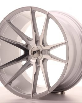 JR Wheels JR21 20×11 ET20-30 5H BLANK Silver Machined Face
