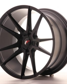 JR Wheels JR21 20×11 ET30-50 5H BLANK Matt Black