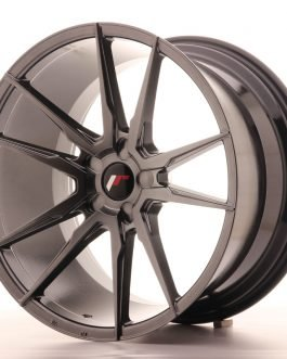 JR Wheels JR21 20×11 ET30-50 5H BLANK Hyper Black