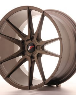 JR Wheels JR21 20×11 ET30-50 5H BLANK Matt Bronze