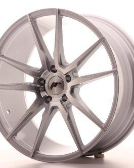 JR Wheels JR21 20×8,5 ET40 5×120 Silver Machined Face