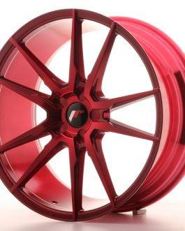 JR Wheels JR21 20×8,5 ET40 5H BLANK Platinum Red