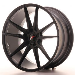JR Wheels JR21 21×10 ET15-48 5H BLANK Matt Black