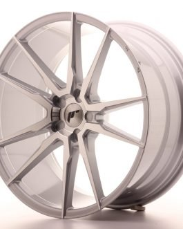 JR Wheels JR21 21×10 ET15-48 5H BLANK Silver Machined Face