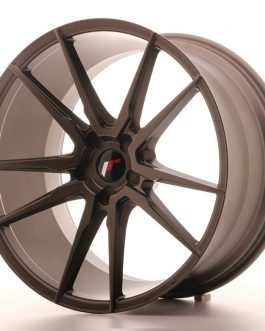JR Wheels JR21 21×11 ET15-55 5H BLANK Matt Bronze