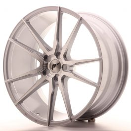 JR Wheels JR21 22×10,5 ET15-52 5H BLANK Silver