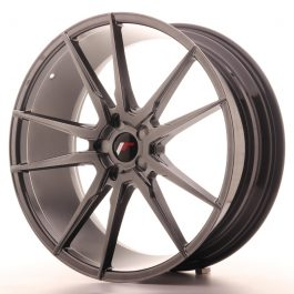 JR Wheels JR21 22×9 ET30-45 5H BLANK Hyper Black