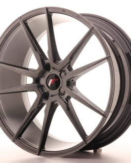 JR Wheels JR21 22×9,5 ET30-48 5H BLANK Hyper Black
