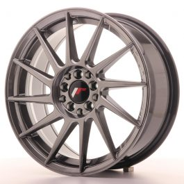 JR Wheels JR22 17×7 ET35 4×100/114 Hyper Black