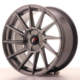 JR Wheels JR22 17×8 ET35 5H BLANK Hyper Black