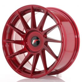 JR Wheels JR22 17×8 ET25-35 BLANK Platinum Red