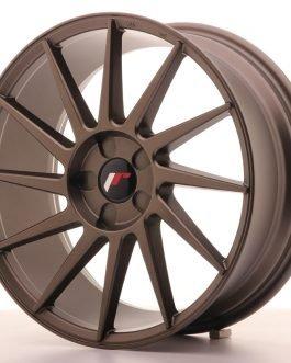 JR Wheels JR22 18×7,5 ET35-40 5H BLANK Matt Bronze
