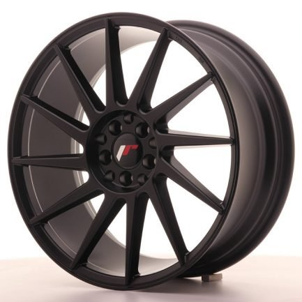 JAPAN RACING JR Wheels JR22 18x7,5 ET40 5x112/114 Matt Black 7.50x18