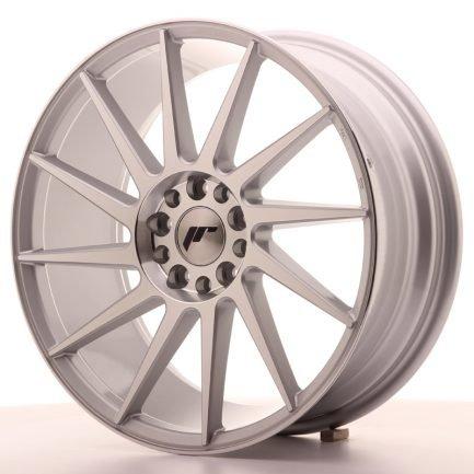 JAPAN RACING JR Wheels JR22 18x7,5 ET40 5x112/114 Silver Machined Face 7.50x18