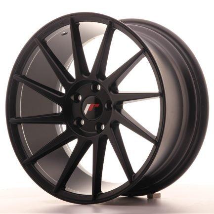 JAPAN RACING JR Wheels JR22 18x8,5 ET40 5x112 Matt Black 8.50x18