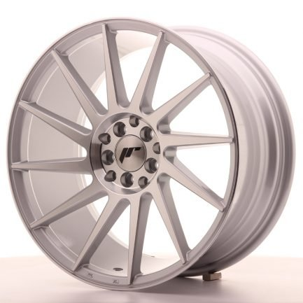JAPAN RACING JR Wheels JR22 18x8,5 ET40 5x112/114 Silver Machined Face 8.50x18