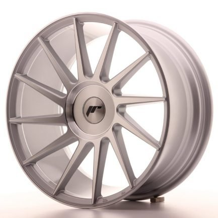 JAPAN RACING JR Wheels JR22 18x8,5 ET20-40 BLANK Silver Machined Face 8.50x18