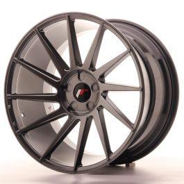 JR Wheels JR22 20×11 ET20-40 5H BLANK Hyper Black