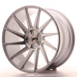 JR Wheels JR22 20×11 ET20-40 5H BLANK Silver Machined Face