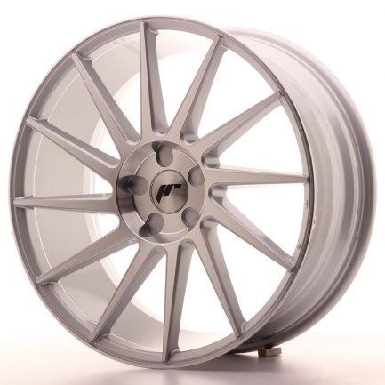 JAPAN RACING JR Wheels JR22 20x8,5 ET40 5H BLANK Silver Machined Face 8.50x20