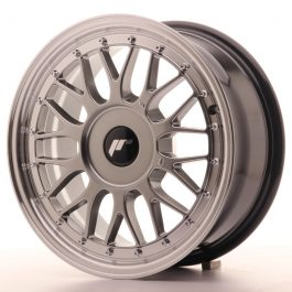 JR Wheels JR23 16×7 ET20-45 BLANK Hyper Black w/Machined Lip