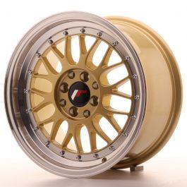 JR Wheels JR23 16×8 ET35 4×100/114,3 Gold w/Machined Lip