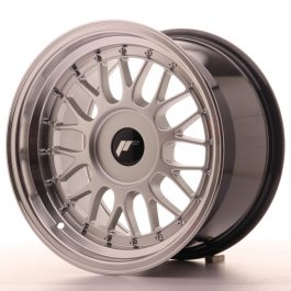 JR Wheels JR23 16×9 ET20-35 BLANK Hyper Silver w/Machined Lip