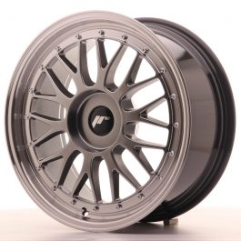 JR Wheels JR23 18×8 ET30-45 BLANK Hyper Black w/Machined Lip