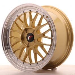 JR Wheels JR23 18×8,5 ET25-48 5H BLANK Gold w/Machined Lip