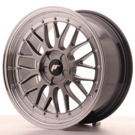 JR Wheels JR23 18×8,5 ET40-48 5H BLANK Hyper Black w/Machined Lip