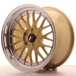 JR Wheels JR23 18×9,5 ET25-48 5H BLANK Gold w/Machined Lip