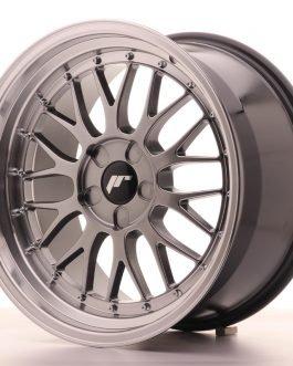 JR Wheels JR23 18×9,5 ET40-48 5H BLANK Hyper Black w/Machined Lip